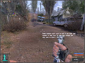 Как я уже говорил ранее, вы не должны выходить с главной дороги, ведущей к лагерной зоне (# 1) - Квесты - Кордон - STALKER: Shadow of Chernobyl - Руководство по игре и прохождение игры