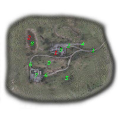 9 - Подробная карта - НИИ Агропром - STALKER: Тень Чернобыля - Руководство по игре и прохождение игры
