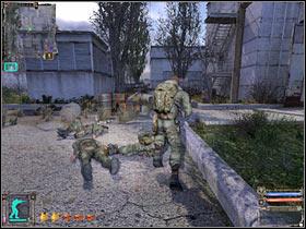 Очень скоро вы сможете добраться до небольшого входа (# 1) - Задания - Научно-исследовательский институт Агропром - STALKER: Shadow of Chernobyl - Руководство по игре и прохождение игры