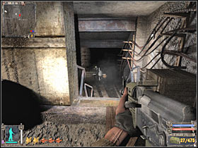 Справа находится вторая группа головорезов (# 1) - Квесты - Канализация Агропрома Р.И. - STALKER: Shadow of Chernobyl - Руководство по игре и прохождение игры
