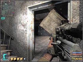 Вы наткнетесь на стальную дверь, но пока можете ее игнорировать - X18 - Квесты - Темная долина - STALKER: Shadow of Chernobyl - Руководство по игре и прохождение игры