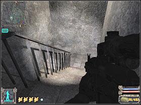 Не беспокойтесь о других объектах, которые будут лететь к вашему персонажу - X18 - Квесты - Темная долина - STALKER: Shadow of Chernobyl - Руководство по игре и прохождение игры