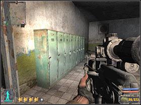 Открыв вторую дверь (см. Описание квеста 3), вы окажетесь в последней комнате этого комплекса - X18 - Квесты - Темная долина - STALKER: Shadow of Chernobyl - Руководство по игре и прохождение игры