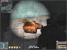 Убедитесь, что вы проверили тело - X18 - Квесты - Темная долина - STALKER: Shadow of Chernobyl - Руководство по игре и прохождение игры