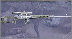 Sniper rifle (SVDm 2) (15000 RU) - Equipment - Additional data - S.T.A.L.K.E.R.: Shadow of Chernobyl - Game Guide and Walkthrough