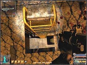 Добравшись до гораздо большей комнаты (# 1), вам придется убить нескольких мутантов - X16 - Квесты - Янтарь - STALKER: Shadow of Chernobyl - Руководство по игре и прохождение игры