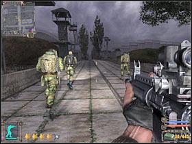Здесь важно знать, что на вас не нападут солдаты Дежурного, если вы не откроете по ним огонь - Квесты - Склады армии - STALKER: Shadow of Chernobyl - Руководство по игре и прохождение игры