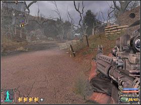 Сама битва довольно проста, однако вам потребуется как минимум 2-3 минуты, чтобы убить всех солдат Монолита - Квесты - Склады армии - STALKER: Shadow of Chernobyl - Руководство по игре и прохождение игры