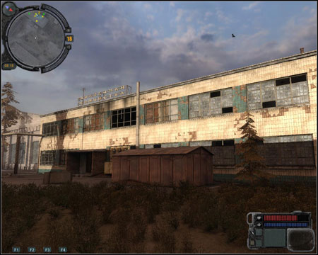 2) Apartment Complex -buildings forming an U are a part of two missions - 6 (One Shot) and 10 - (Unknown) - Walkthrough - Pripyat - Map - Walkthrough - S.T.A.L.K.E.R.: Call of Pripyat - Game Guide and Walkthrough