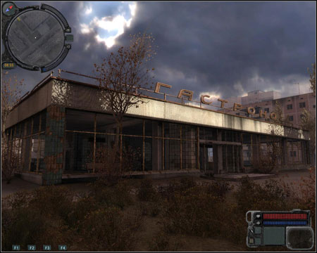 6) Kindergarten - you will get inside during mission 9 (Radio Interference) - Walkthrough - Pripyat - Map - Walkthrough - S.T.A.L.K.E.R.: Call of Pripyat - Game Guide and Walkthrough