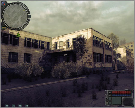 7) Yubileiny Service Center - location from mission 7 (Laboratory X8), full of zombies and Monolith soldiers - Walkthrough - Pripyat - Map - Walkthrough - S.T.A.L.K.E.R.: Call of Pripyat - Game Guide and Walkthrough
