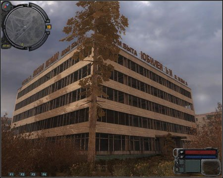8) School - you will come across this building during mission 2 (Helping Zulu) - Walkthrough - Pripyat - Map - Walkthrough - S.T.A.L.K.E.R.: Call of Pripyat - Game Guide and Walkthrough