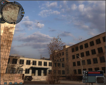 9) Hospital - the first mission of this sector takes place here - (Unidentified Weapon / Gauss Rifle) - Walkthrough - Pripyat - Map - Walkthrough - S.T.A.L.K.E.R.: Call of Pripyat - Game Guide and Walkthrough