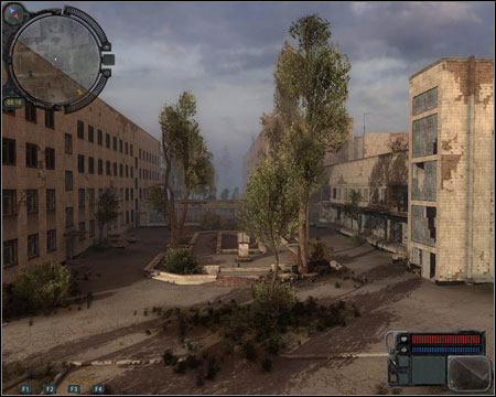 10) River Port - one of the two locations from which Monolith soldiers will be shooting at you during the last mission - Walkthrough - Pripyat - Map - Walkthrough - S.T.A.L.K.E.R.: Call of Pripyat - Game Guide and Walkthrough