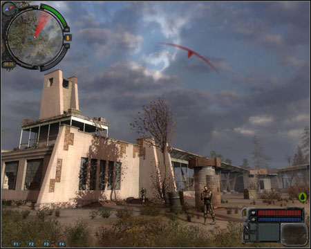 11) Prometheus Movie Theater - one of the two locations from which Monolith soldiers will be shooting at you during the last mission - Walkthrough - Pripyat - Map - Walkthrough - S.T.A.L.K.E.R.: Call of Pripyat - Game Guide and Walkthrough