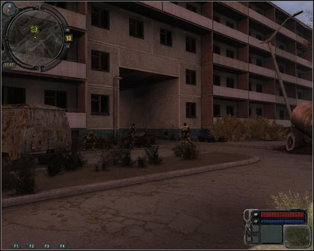Your main enemies will be zombies attacking from every possible direction - Walkthrough - Pripyat Quests - Walkthrough - S.T.A.L.K.E.R.: Call of Pripyat - Game Guide and Walkthrough