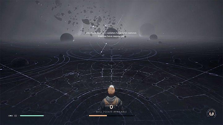Yes, the enemies can respawn and the mechanic works similarly to, for instance, the games from the Dark Souls franchise - Star Wars Jedi Fallen Order Guide