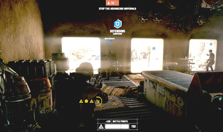 When you notice that a point is being captured (white outline around the icon), you must run to that place and defend/retake it. - Game modes - Tips and advise - Star Wars Battlefront 2 Game Guide