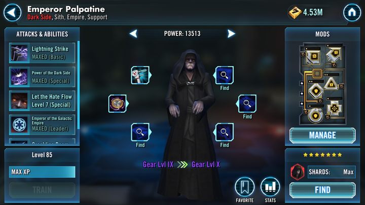How to unlock Emperor Palpatine? | FAQ - Star Wars: Galaxy of Heroes