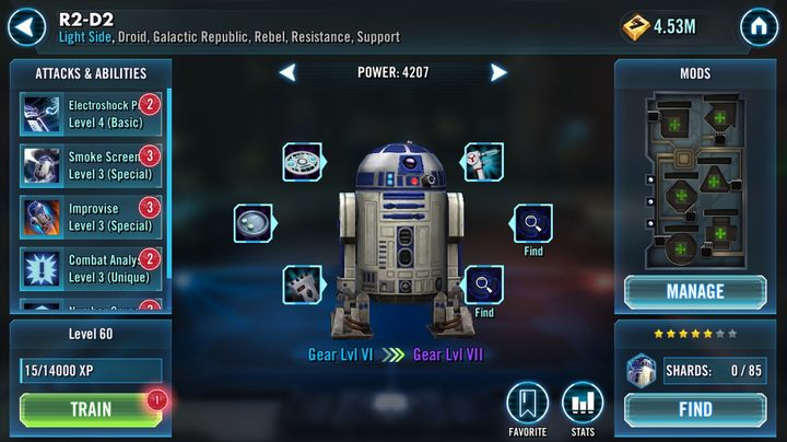 How to unlock R2-D2? | FAQ - Star Wars: Galaxy of Heroes Game Guide