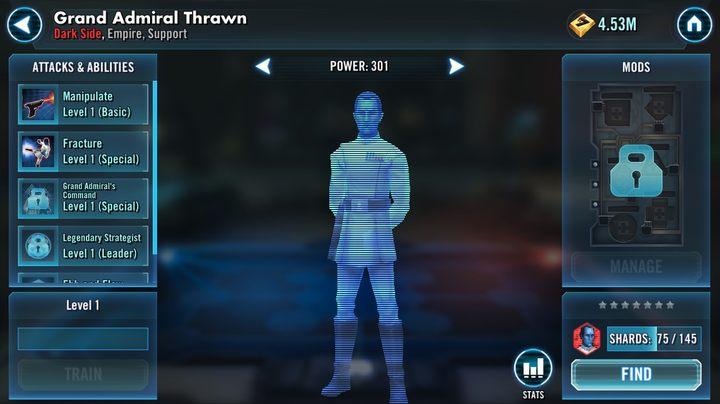 How to unlock Grand Admiral Thrawn? | FAQ - Star Wars: Galaxy of