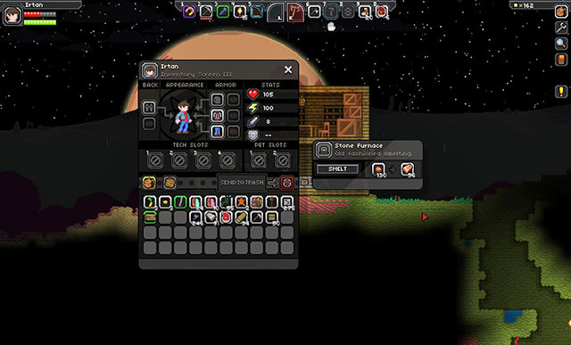Stone axe starbound server