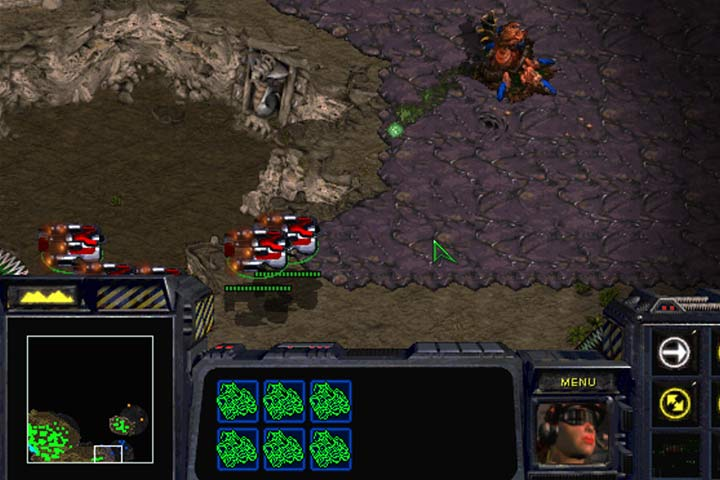 A large group of transporters can sneak between the zerg defense line and reach the designated place. Stick to the bottom of the map and dont forget to bring Raynor with you! - Mission 6 - Norad II | Terran | Campaign Walkthrough - Terrans - StarCraft: Remastered Game Guide