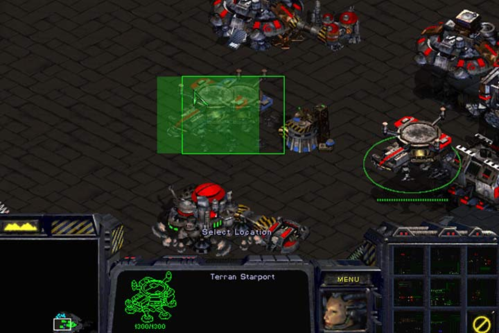 Take control over the extensions simply by erecting your buildings right next to them. - Mission 8 - The Big Push | Terrans | Campaign Walkthrough - Terrans - StarCraft: Remastered Game Guide