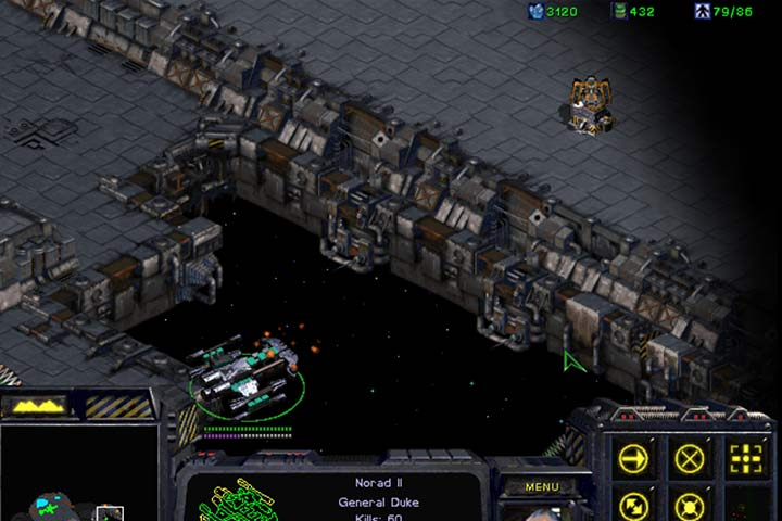 Battlecruisers are armed with the Yamato Cannon that can destroy a hostile Turret with a single shot and at a great distance. - Mission 8 - The Big Push | Terrans | Campaign Walkthrough - Terrans - StarCraft: Remastered Game Guide