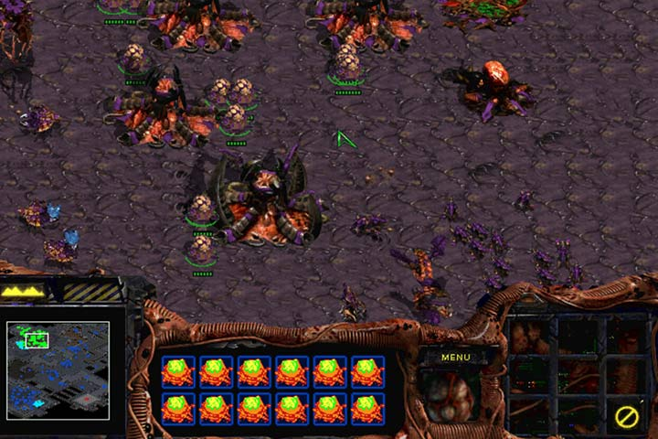 zerg rush game how to play