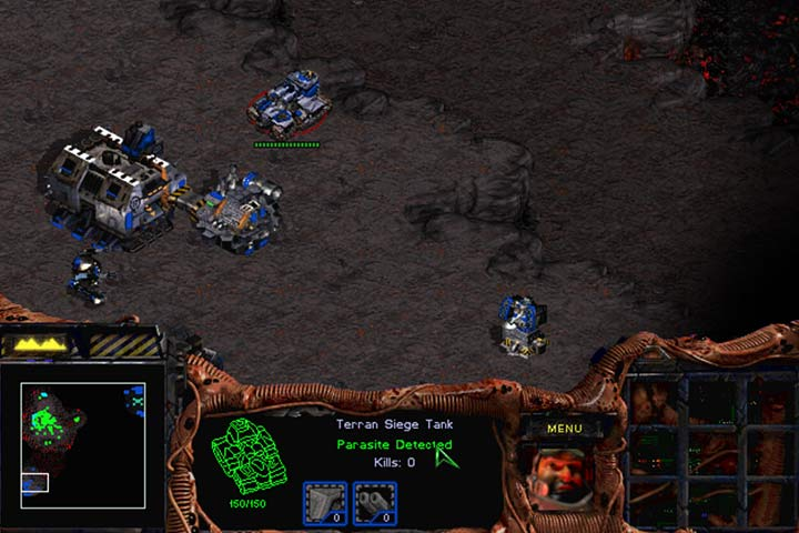 If you use the Parasite ability on hostile units, you gain a spy within the enemy ranks. This unit is still under the control of the enemy but you can see its surroundings. Its a good idea to use this ability on transporters to know about hostile operations beforehand. Zerg Queen can use this ability at a large distance and has no limit of active parasites. - Mission 4 - Agent of the Swarm | Zerg | Campaign Walkthrough - Zerg - StarCraft: Remastered Game Guide