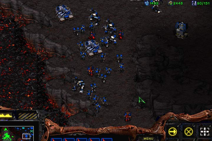 While attacking the main enemy base, you need to be ready for fierce terran resistance. Prepare an air force and use the Ensnare (Queen) ability on hostile groups. - Mission 4 - Agent of the Swarm | Zerg | Campaign Walkthrough - Zerg - StarCraft: Remastered Game Guide