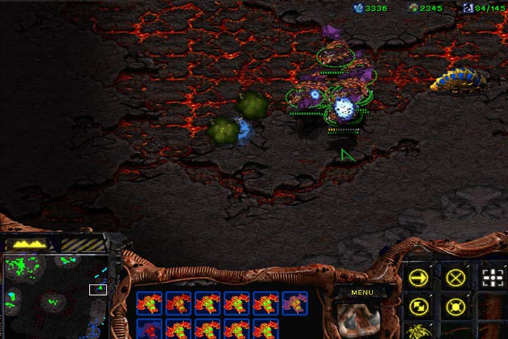 A group of Mutalisks can easily destroy Reavers and stop a counterattack by Scouts or Dragoons. - Mission 6 - The Dark Templar | Zerg | Campaign Walkthrough - Zerg - StarCraft: Remastered Game Guide