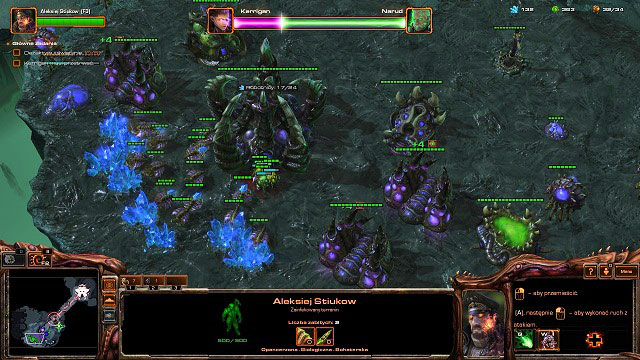 After you seize the bridgehead Narud will attack Kerrigan - you will be only able to control Stukov for now - Phantoms of the Void - Skygeirr Missions - StarCraft II: Heart of the Swarm - Game Guide and Walkthrough