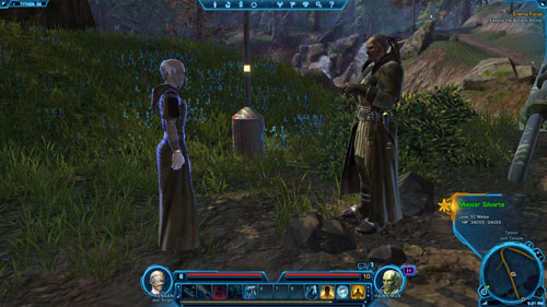 Speak to Moracen - (L04) Lovers and Secrets - Tython - Star Wars: The Old Republic - Game Guide and Walkthrough