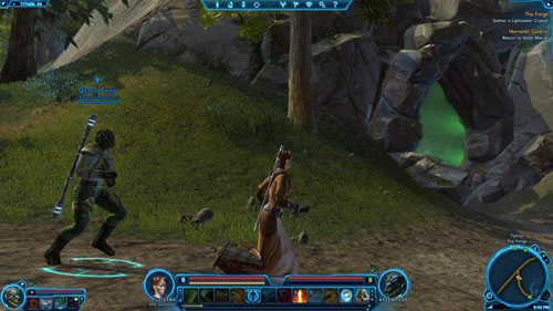 Kill Cavern Horranths: 0/12 - (L08) The Forge - Jedi Consular - Star Wars: The Old Republic - Game Guide and Walkthrough