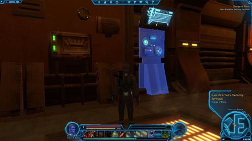 Defeat Karrels Javiss Bodyguards - (L09) Change of Plans - Imperial Agent - Star Wars: The Old Republic Game Guide