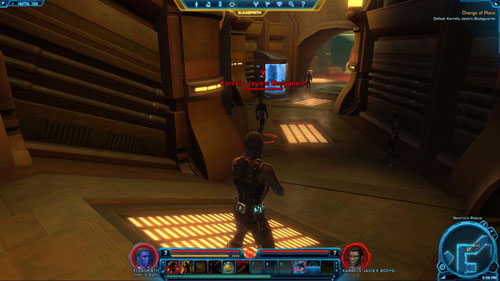 Speak to Karrels Javis - (L09) Change of Plans - Imperial Agent - Star Wars: The Old Republic Game Guide