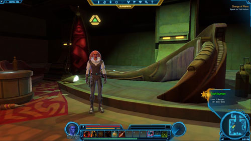 Use the Holoterminal - (L09) Change of Plans - Imperial Agent - Star Wars: The Old Republic Game Guide