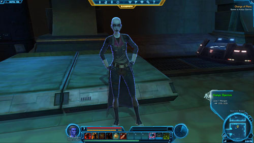 1 - (L09) Change of Plans - Imperial Agent - Star Wars: The Old Republic Game Guide