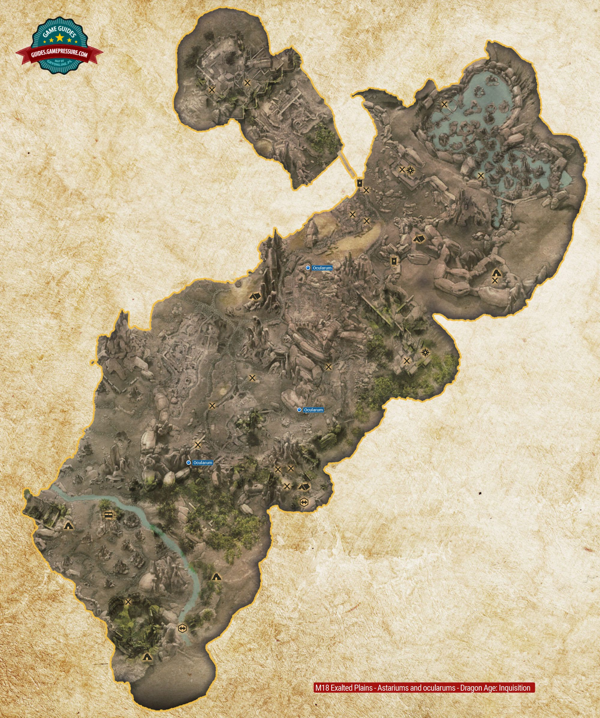 M18 Exalted Plains - Astariums and ocularums - Dragon Age: Inquisition