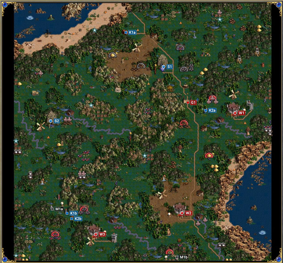 Borderlands Campaign Spoils Of War Heroes Of Might Magic Iii