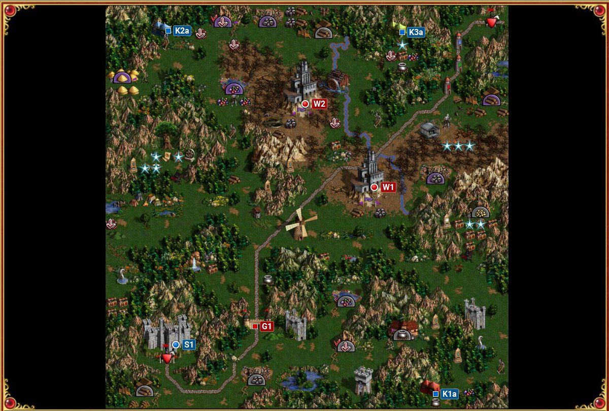 Features of the passage of Heroes of Might and Magic 6 59