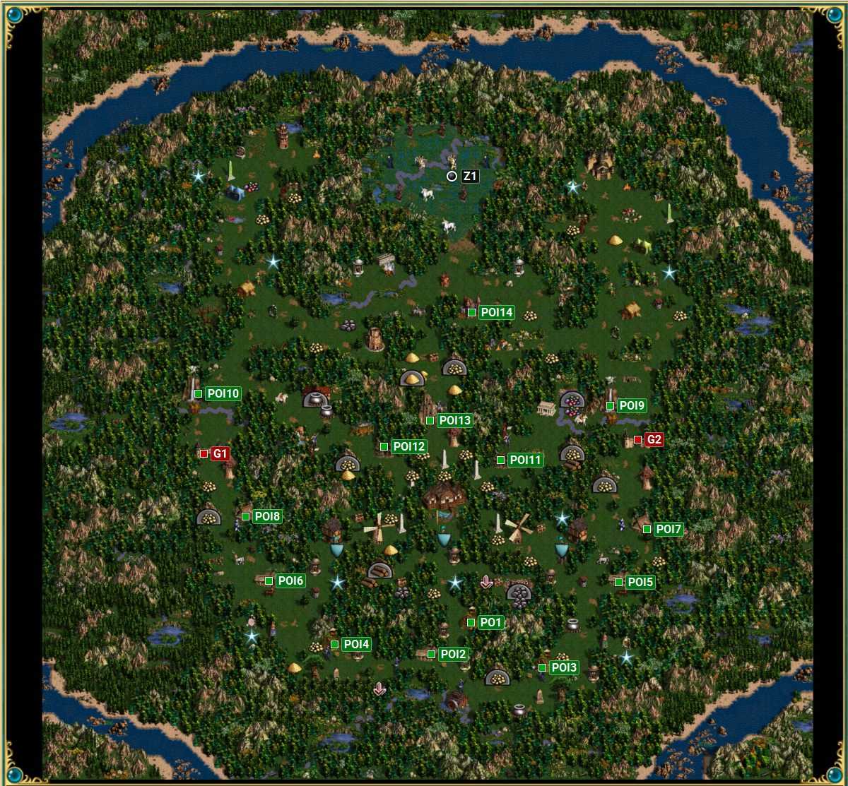 Heroes of Might & Magic III: HD Edition - The Grail mission - Seeds of Disconent campaign ...