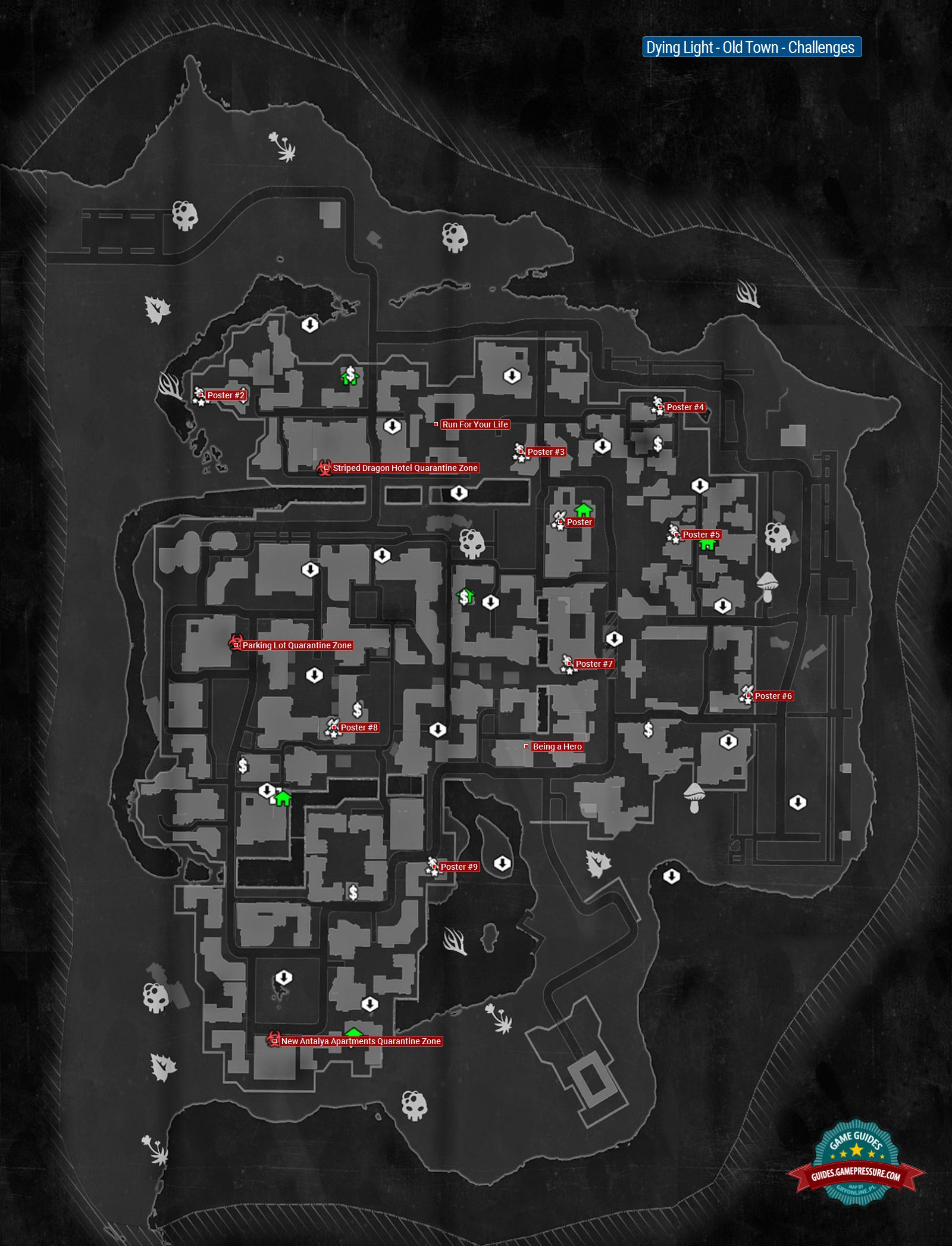 Old Town Challenges Dying Light Game Guide