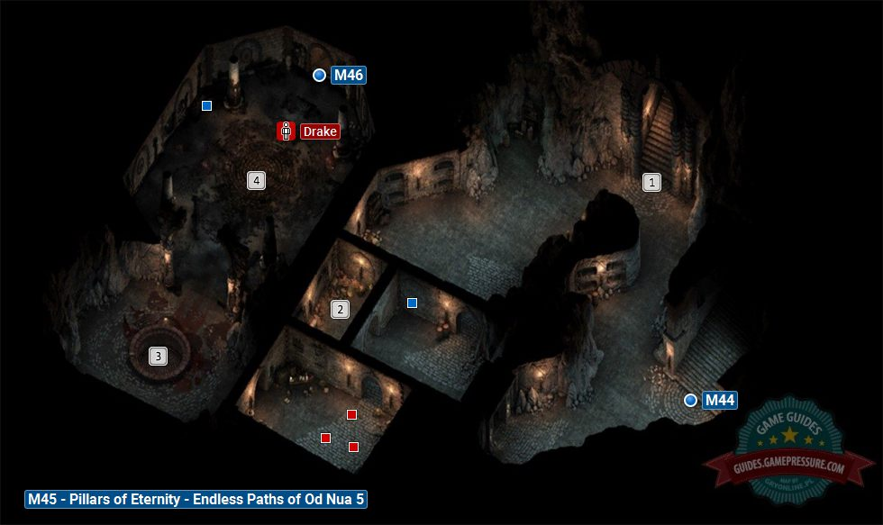 Endless Paths of Od Nua Level 5 M45 Pillars of Eternity Game