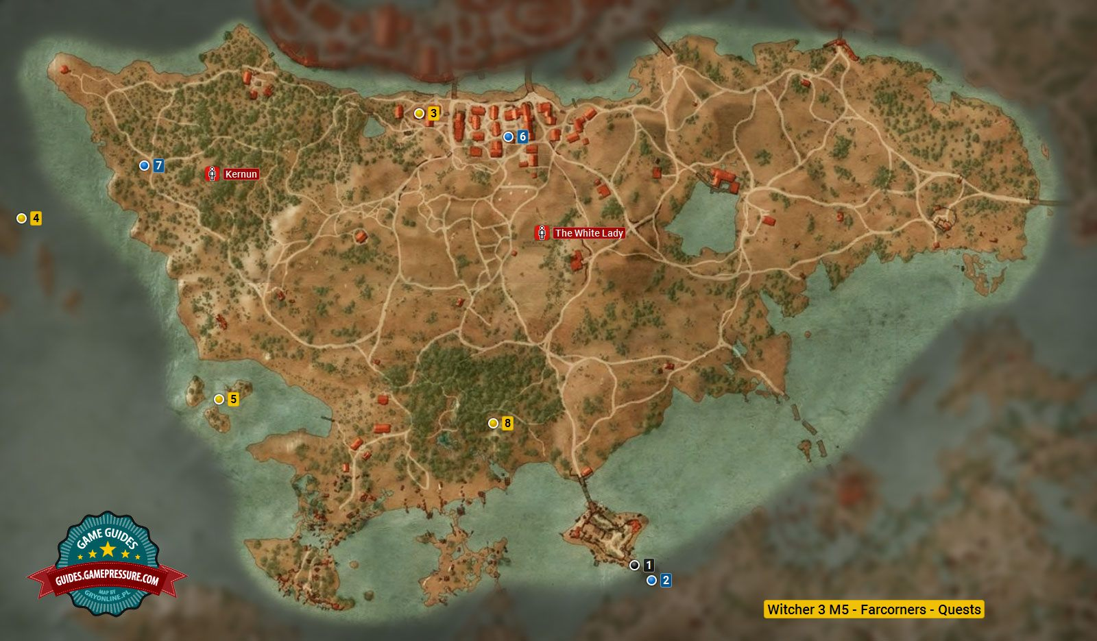 Witcher 3 M5 - Farcorners - Quests