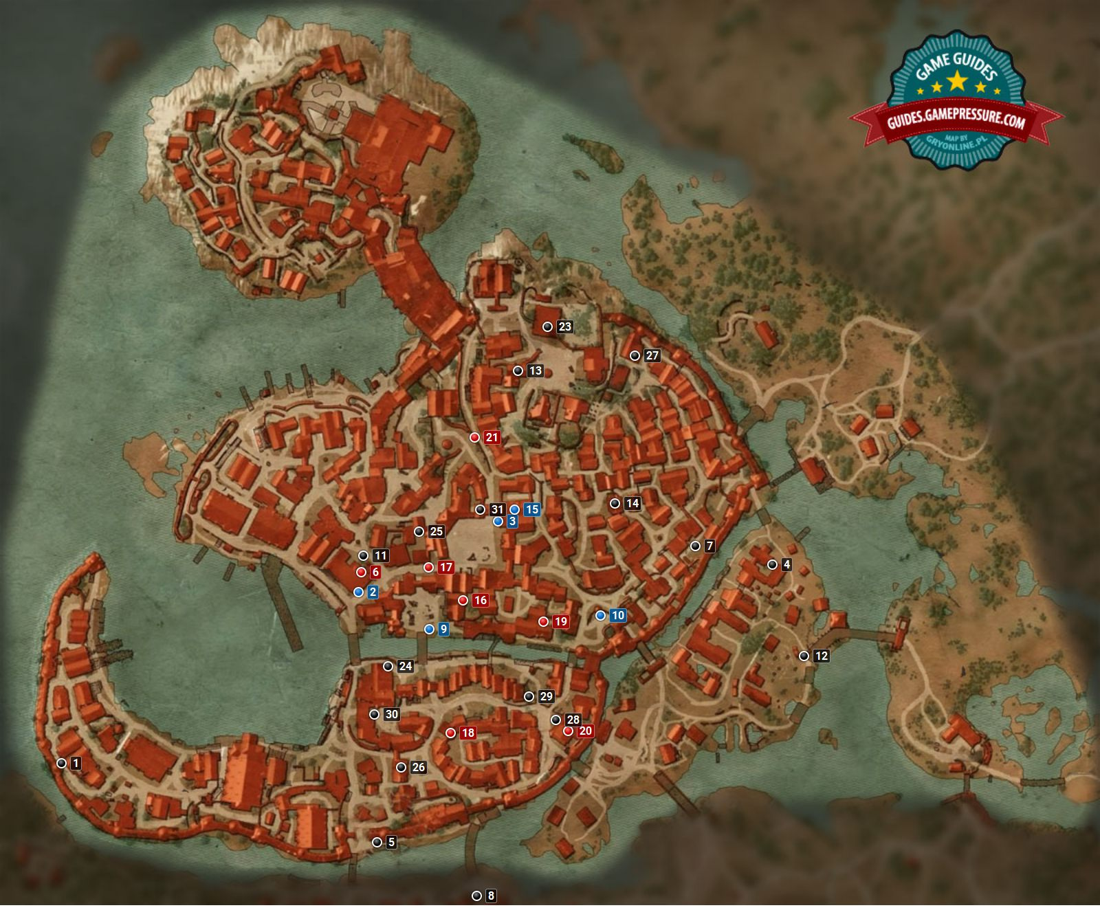Witcher 3 M6 - Free City of Novigrad - Quests