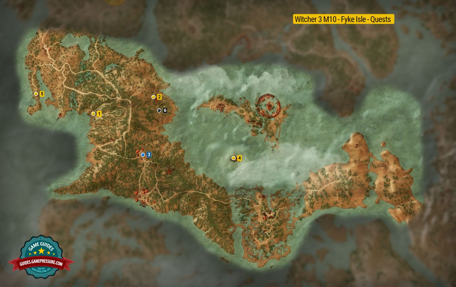 Witcher 3 M10 - Fyke Isle - Quests