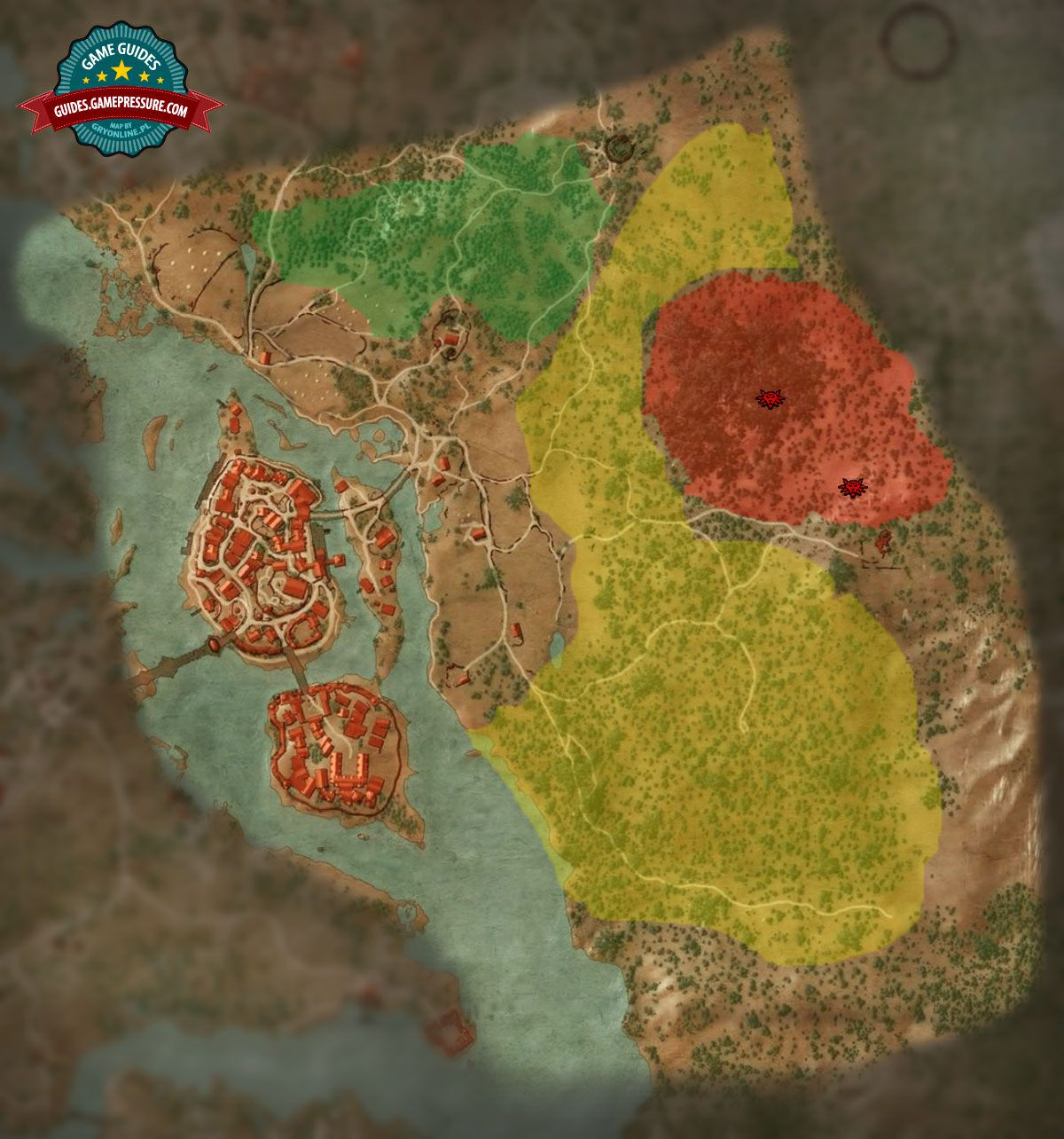 Map of enemies in oxenfurt the witcher 3 wild hunt game guide witcher 3 m8 oxenfurt enemies gumiabroncs Image collections